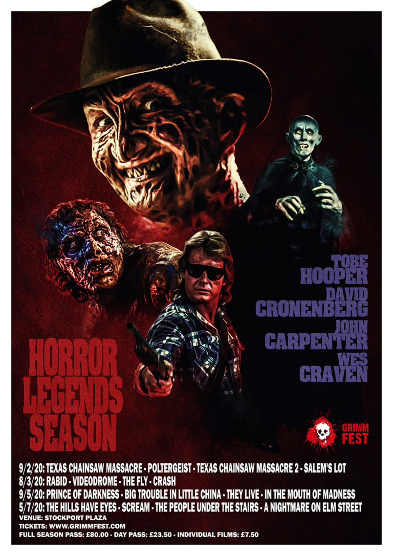 Feast on a Horror Legends Season of films inside Stockport's historic Plaza Cinema – with Grimmfest