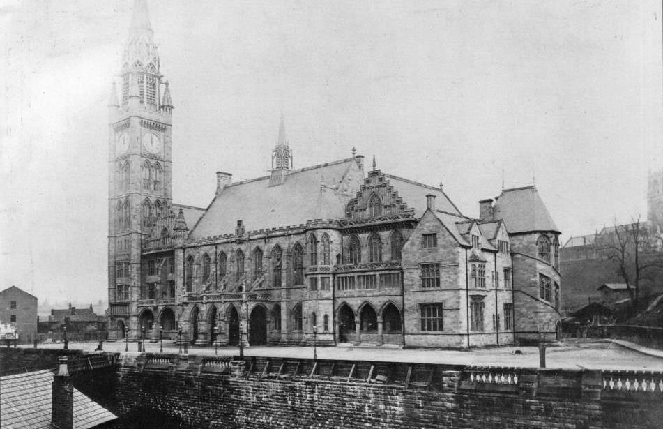 Rochdale Town Hall Old