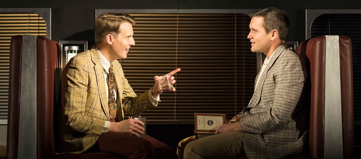 Christopher Harper as Charles Bruno and Jack Ashton as Guy Haines 5 (c) Helen Maybanks_preview