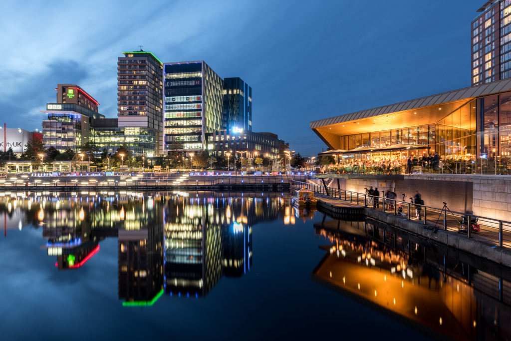 Salford Quays Celebrates 18 Years - Visit Manchester
