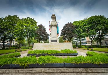 The Rochdale Cenotaph.