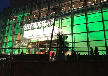 Manchester Goes Green for Halloween