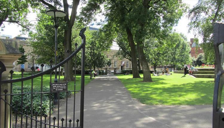 All Saints Gardens Visit Manchester