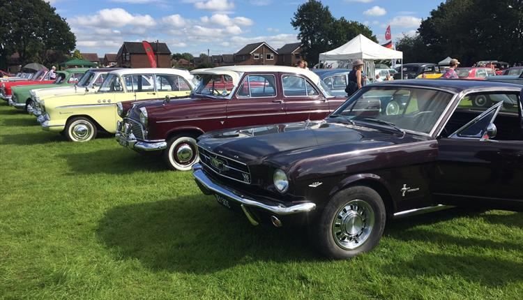 The Woodsmoor Classic Car Show Visit Manchester - Classic car show near me 2018
