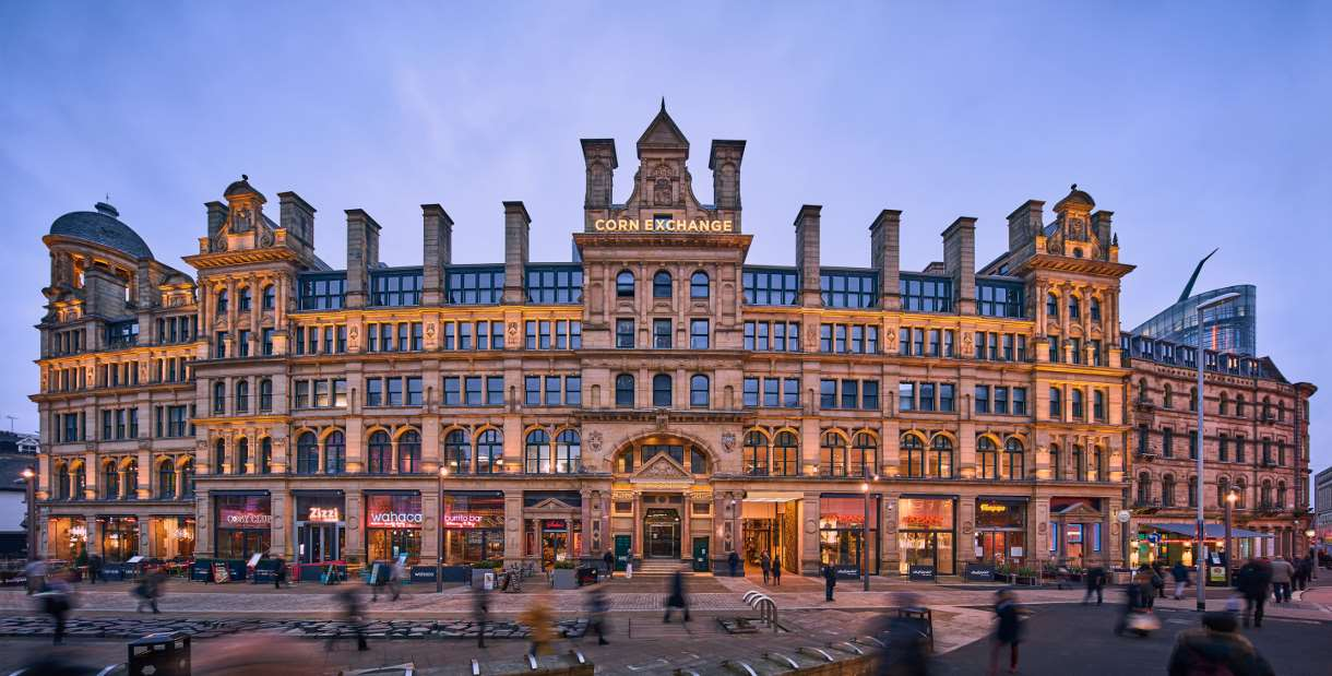Image result for corn exchange manchester