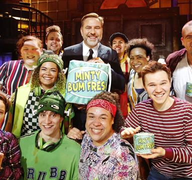 Interview with David Walliams about Billionaire Boy The Musical