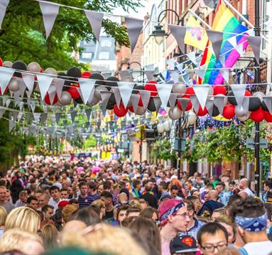 Thumbnail for Your day by day guide to Manchester Pride