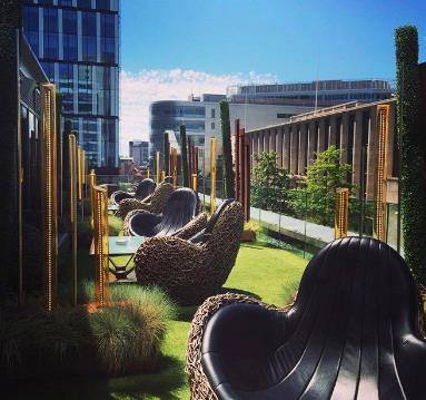 7 of the best rooftop terraces to soak up the Manchester sunshine