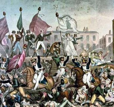 Manchester marks 199th anniversary of Peterloo Massacre as bicentenary approaches