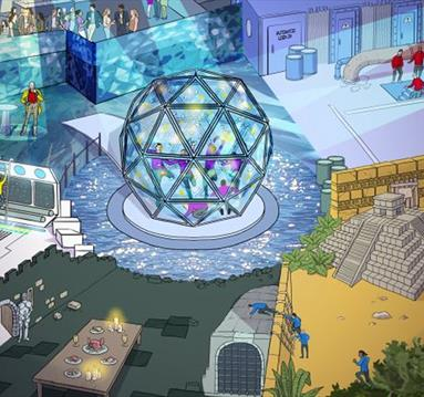 The Crystal Maze is coming to Manchester