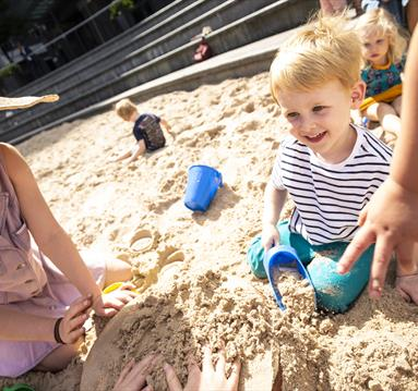 The Great Northern Launches Giant Summer Sandpit