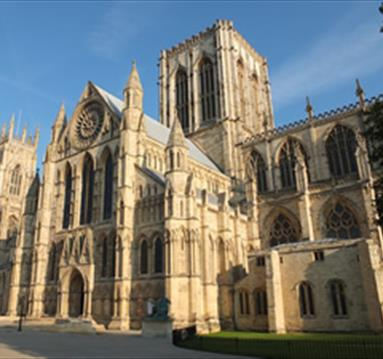 York Minster, South Piazza