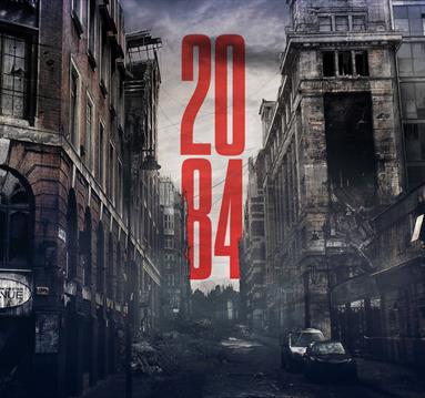 2084 - an immersive performance in Manchester Central Library
