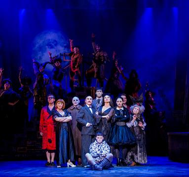 The Addams Family at The Lowry. Credit Matt Martin.