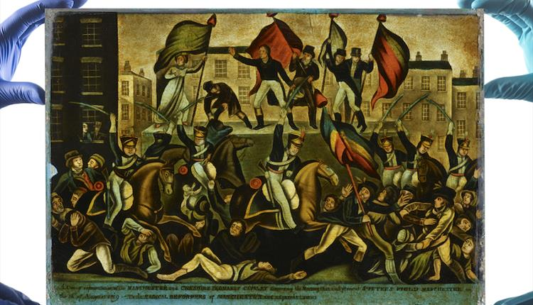 Disrupt? Peterloo and Protest