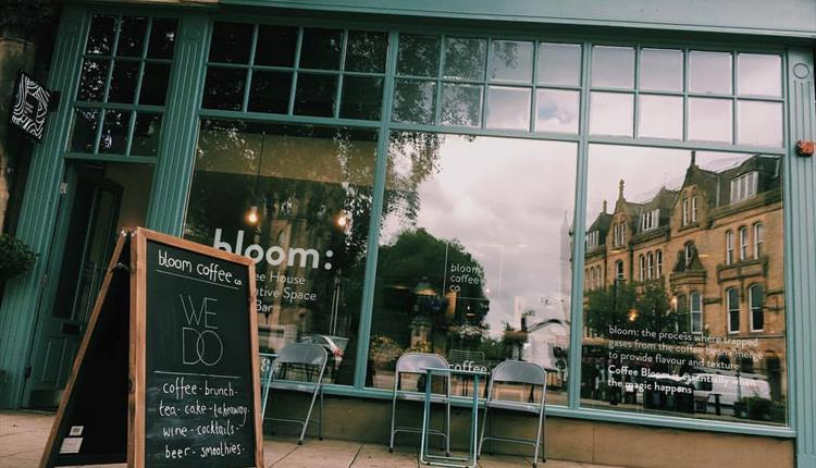 Bloom Coffee Shop in Bury Town Centre