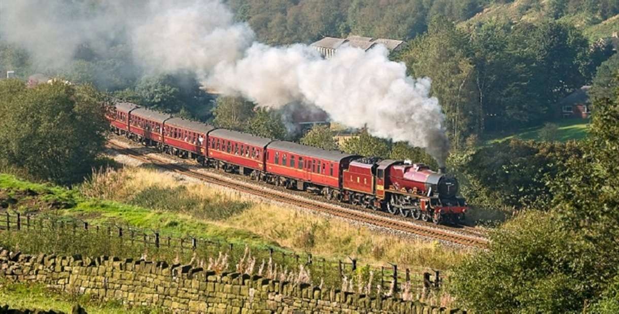 The High Peak Explorer - A day out to the Peak District by steam...