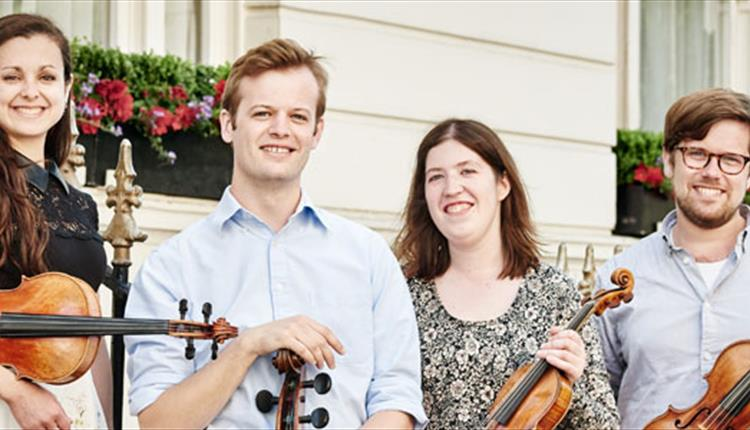 Saddleworth Concert Society: Castalian Quartet: At Millgate Arts Centre