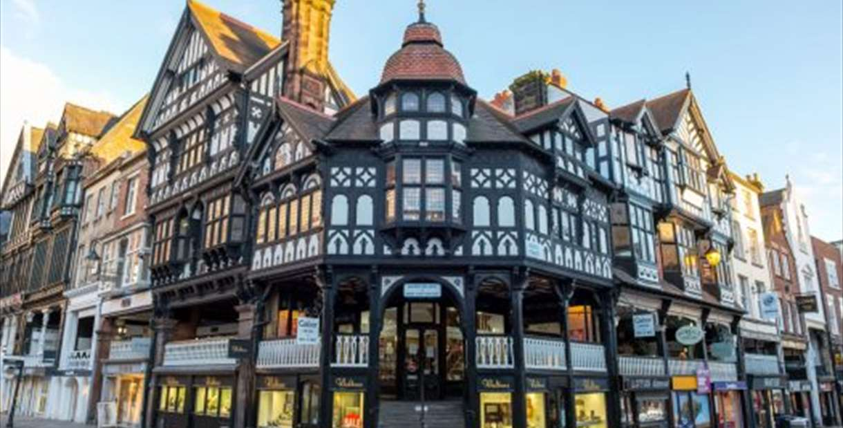 Historic Chester with River Cruise, Open Top Bus and Walking Tour Day Trip from Manchester