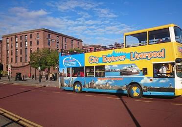 City Explorer Liverpool Tour Bus