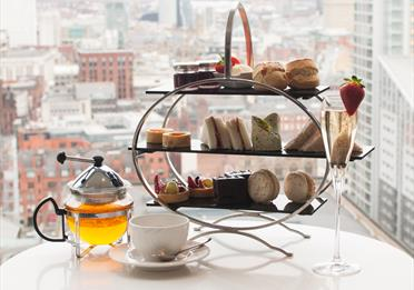 Afternoon tea at Cloud 23