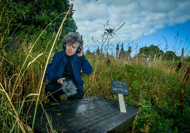 Debbie Sharp - The artist unearthing the hidden stories of suffrage and cemeteries