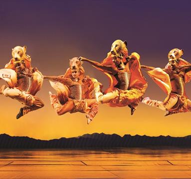 Disney's The Lion King dancers