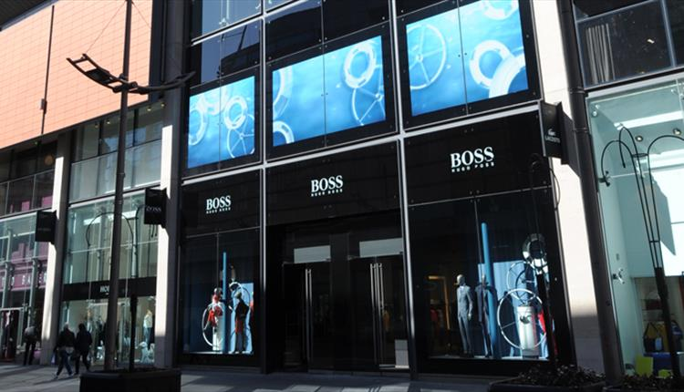 The front of BOSS