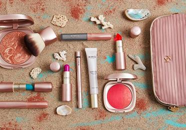 Beauty products from Kiko