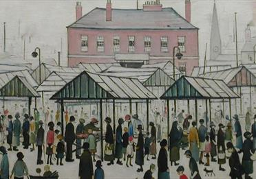 Around Manchester with L.S.Lowry with Manchester Taxi Tours