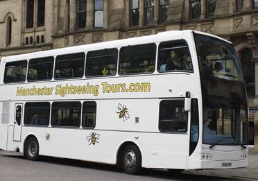 Manchester Bus Tour 'Secrets of the City' with LIVE Guide