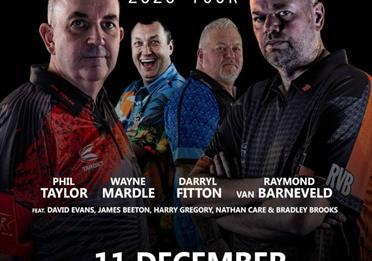 Icons of Darts at The Queen Elizabeth Hall
