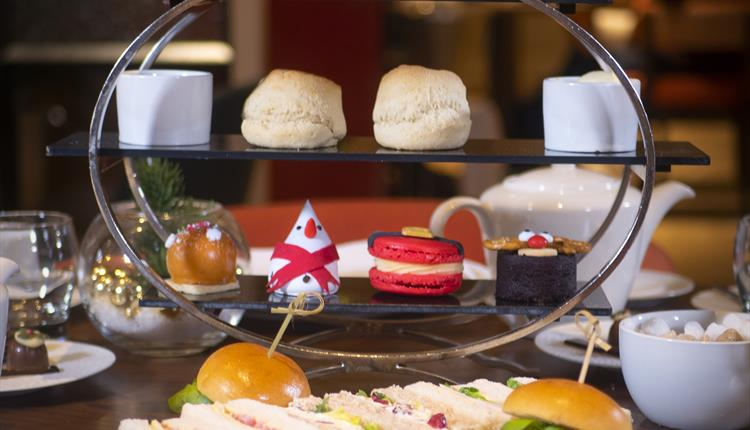 Festive Afternoon Tea at The Lowry Hotel