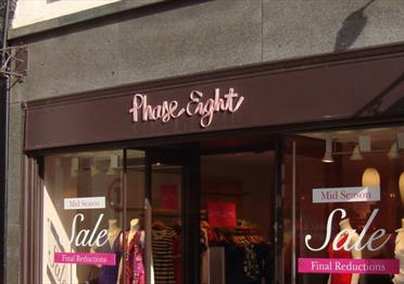 The front of Phase Eight.