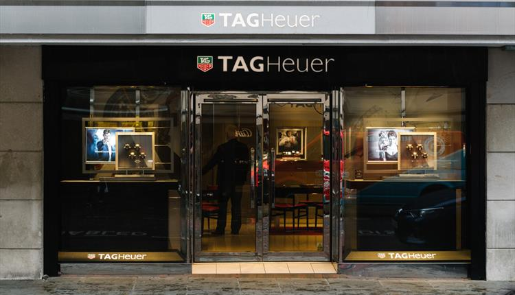 Images of and inside TAG Heuer.