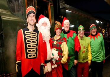 Santa Specials at East Lancashire Railway