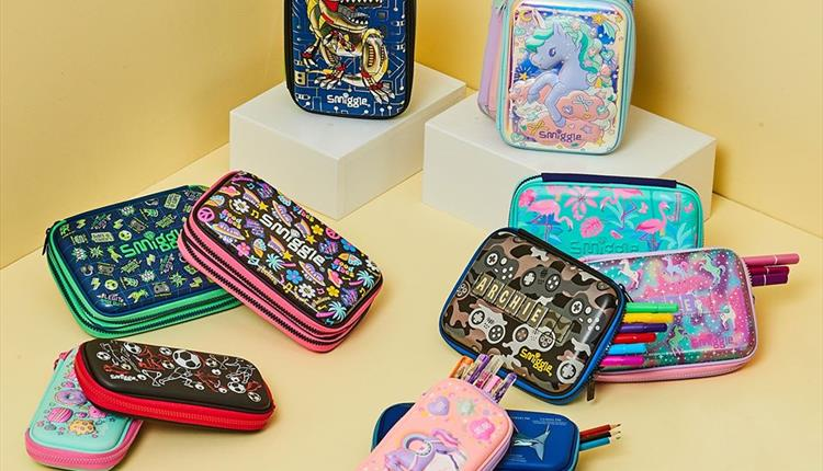 Products from Smiggle.