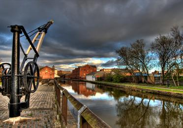 Wigan Pier to Leigh Bridge