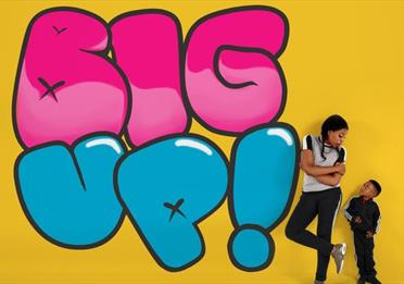 "Theatre Rites and 20 Stories High present ""Big UP!"" (for 3-6 year olds)"