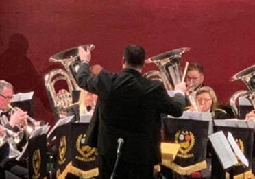 Boarshurst Silver Band at Oldham Coliseum Theatre