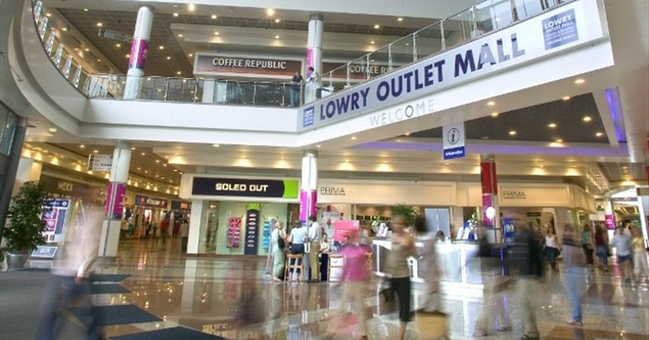 The Lowry Outlet Mall Salford Quays Visit Manchester