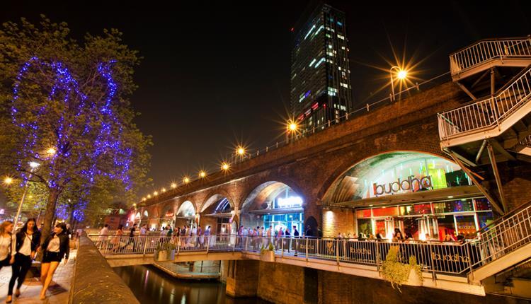 Deansgate Locks Manchester Visit Manchester