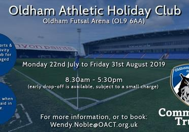 Oldham Athletic Summer Holiday Club