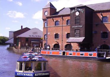 Kittywake at Wigan Pier