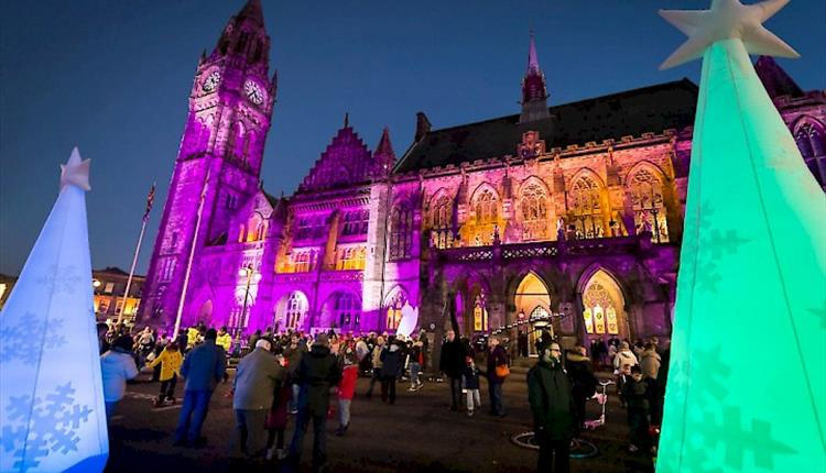 Rochdale Festive Market & Christmas Lights Switch-On