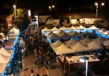 Levenshulme Market At Night