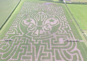 Redhouse Farm Maize Maze