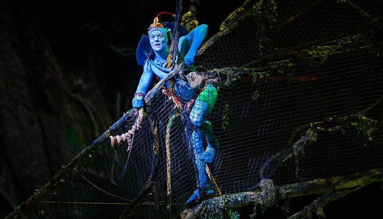 Cirque Du Soleil - TORUK: The First Flight. Errisson Lawrence © 2015 Cirque du Soleil